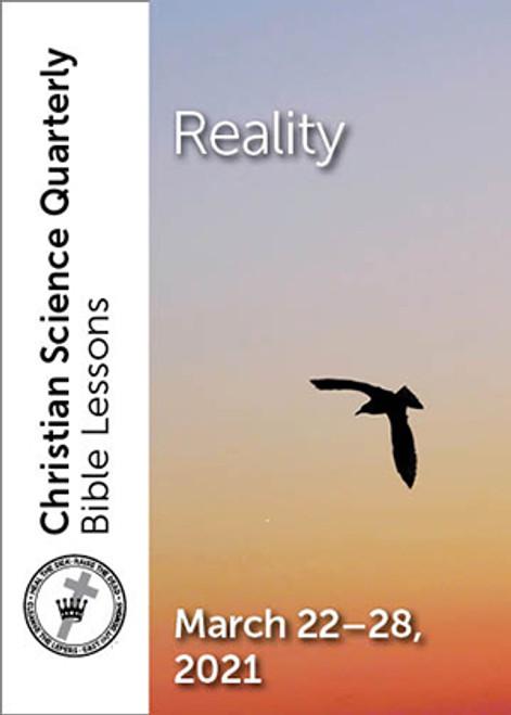 Christian Science Quarterly Bible Lessons: Reality, Mar 28, 2021 – eBook (EPUB)