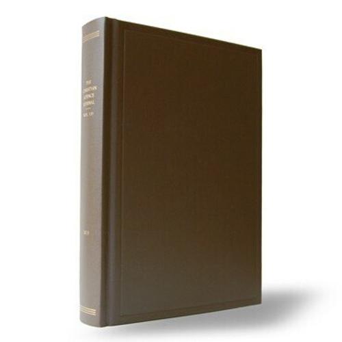 2020 Journal Bound Volume
