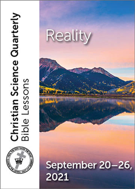 Christian Science Quarterly Bible Lessons: Reality, September 26, 2021 – eBook (MOBI)