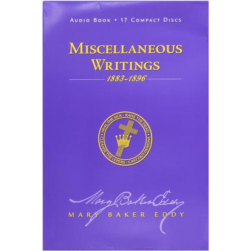 Miscellaneous Writings 1883-1896 (Audiobook CD)