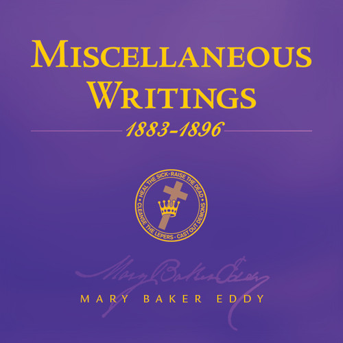 Miscellaneous Writings 1883-1896 by Mary Baker Eddy (Audiobook Download)