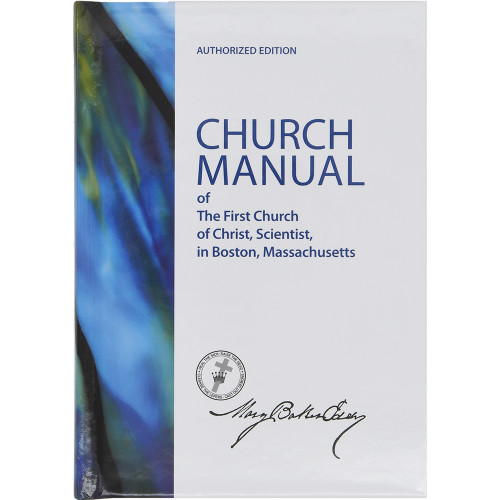 Church Manual - Sterling Edition (Hardcover) - Front cover