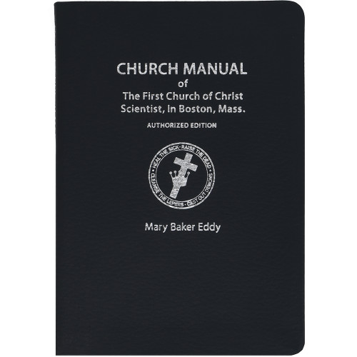 Church Manual - Sterling Edition (Leather) - Front cover