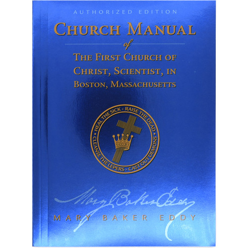 Manual of The Mother Church, Study Edition, Paperback - Front cover