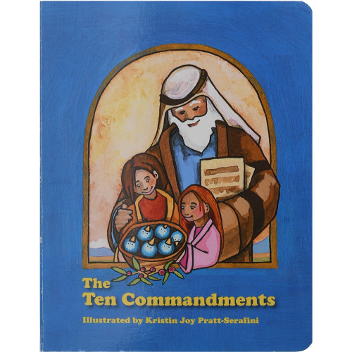 The Ten Commandments (children's board book) - Front cover