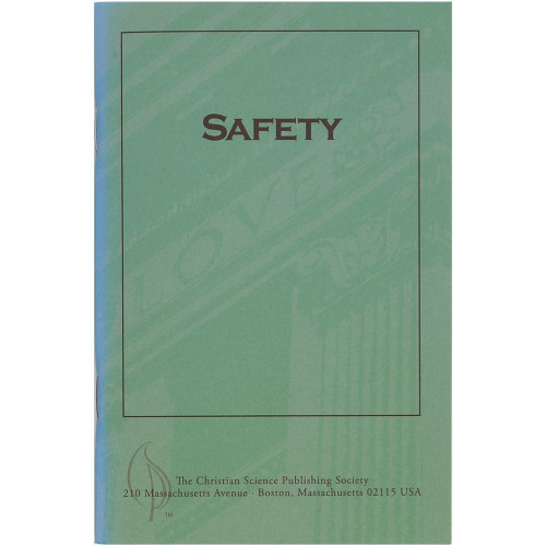 Safety (pamphlet) - Front cover