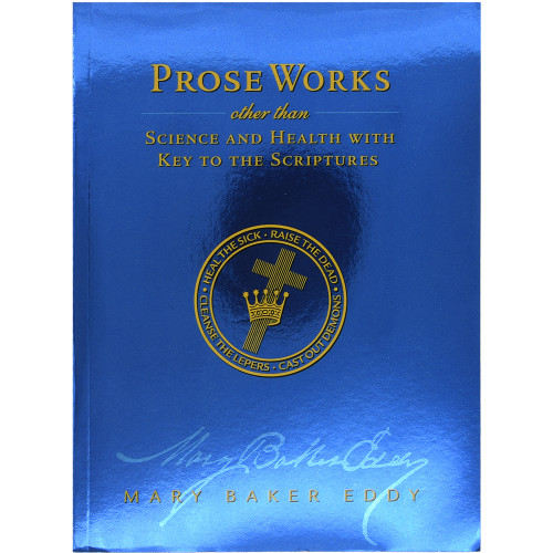 Prose Works, Study Edition, paperback - Front cover