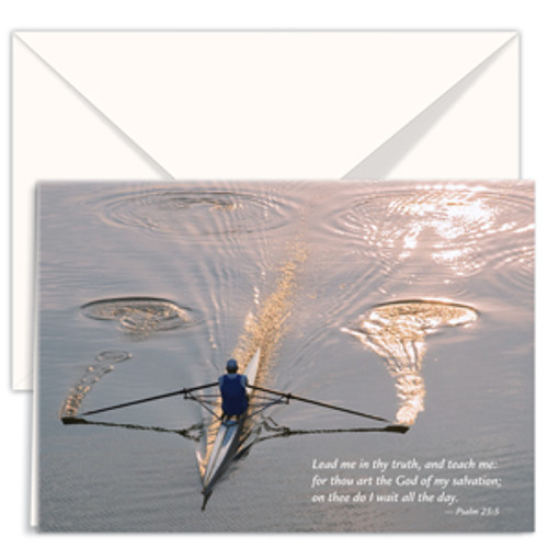 Greeting Card – Rowing Reflections (3-pack)