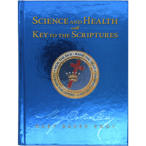 Science and Health with Key to the Scriptures - Front cover
