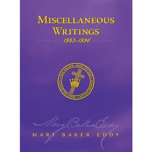 Miscellaneous Writings 1883-1896by Mary Baker Eddy (eBook)