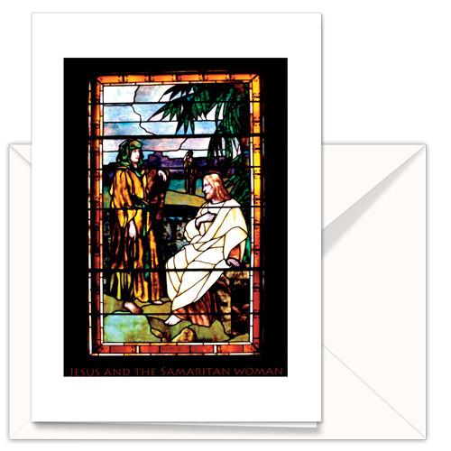 Greeting Card – Jesus and the Samaritan Woman (3-pack)