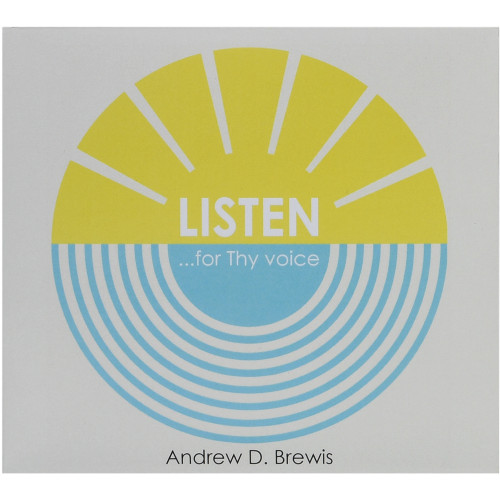 Listen... for Thy voice – CD - Front cover