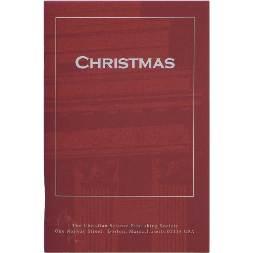 """Christmas"" pamphlet — Front cover"