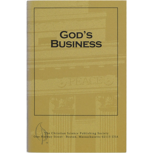 God's Business (Pamphlet) - Front cover
