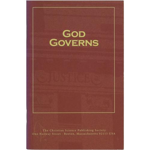 God Governs (Pamphlet) - Front cover