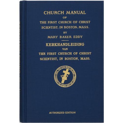 Kerkhandleiding van The First Church of Christ, Scientist // Church Manual – Harcover (Dutch)