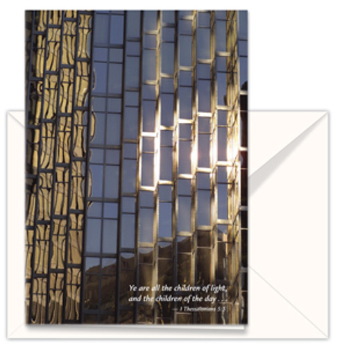 Greeting Card – Building Reflections (3-pack)