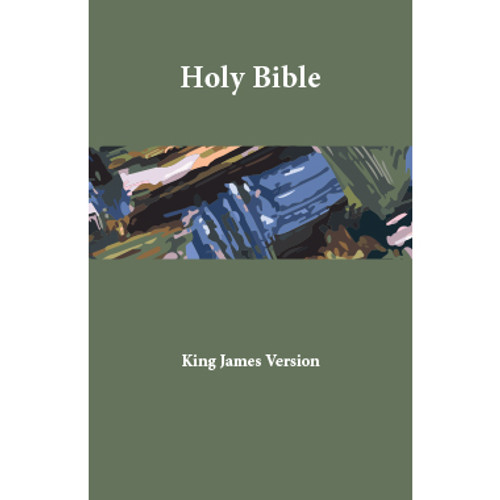 Holy Bible, King James Version – Midsize Edition (Paperback, thumb-tab indexed) - Front cover