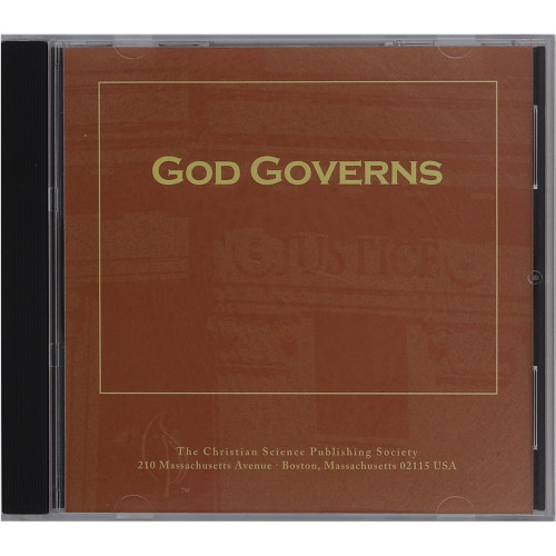 God Governs – Audiobook (CD) - Front cover