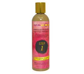 NATURALICIOUS-MED CURLS WAVES 5IN1 CLAY TREATMENT[STEP1]* 8oz