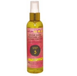 NATURALICIOUS-MED CURLS WAVES MOIST FRIZZ FIGHTER* STEP 3
