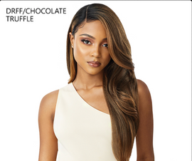 Outre Synthetic Melted Hairline Lace Front Wig - CATALINA