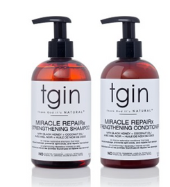 TGIN  Miracle RepaiRx Strengthening Shampoo And Conditioner Duo