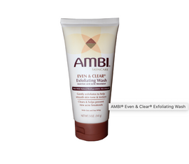 AMBI® Even & Clear® Exfoliating Wash 5oz