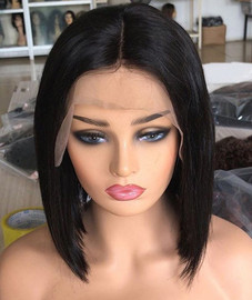 10 inches lace front bob wig