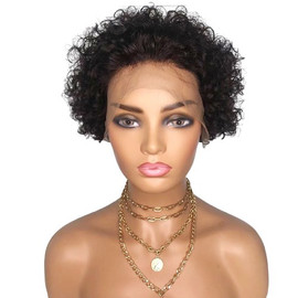 PIXIE CURLY LACE FRONT WIG