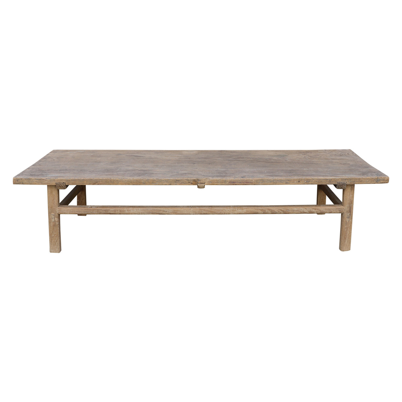 Vintage Coffee Table Medium About 5 6 Long With Weathered Natural Wood Finish Size Color Vary Lilys Living