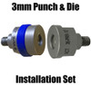 SPR-12 Aluminum Self Piercing rivet 3mm punch  and Forming die Set -1