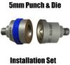 SPR-12 Aluminum Self Piercing rivet 5mm punch  and Forming die Set