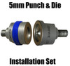 SPR-12 Aluminum Self Piercing rivet 5mm punch  and Forming die Set -1