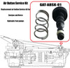 enerpac DA4802051SR Air Button Service Kit Replacement for  Hydraulic Foot pump