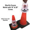 No parking Safety Cone Collar - Reflective-4