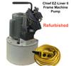 Used Chief Frame machine EZ Liner II pump - 5 Ton Pull Power
