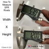 How to measure rivets