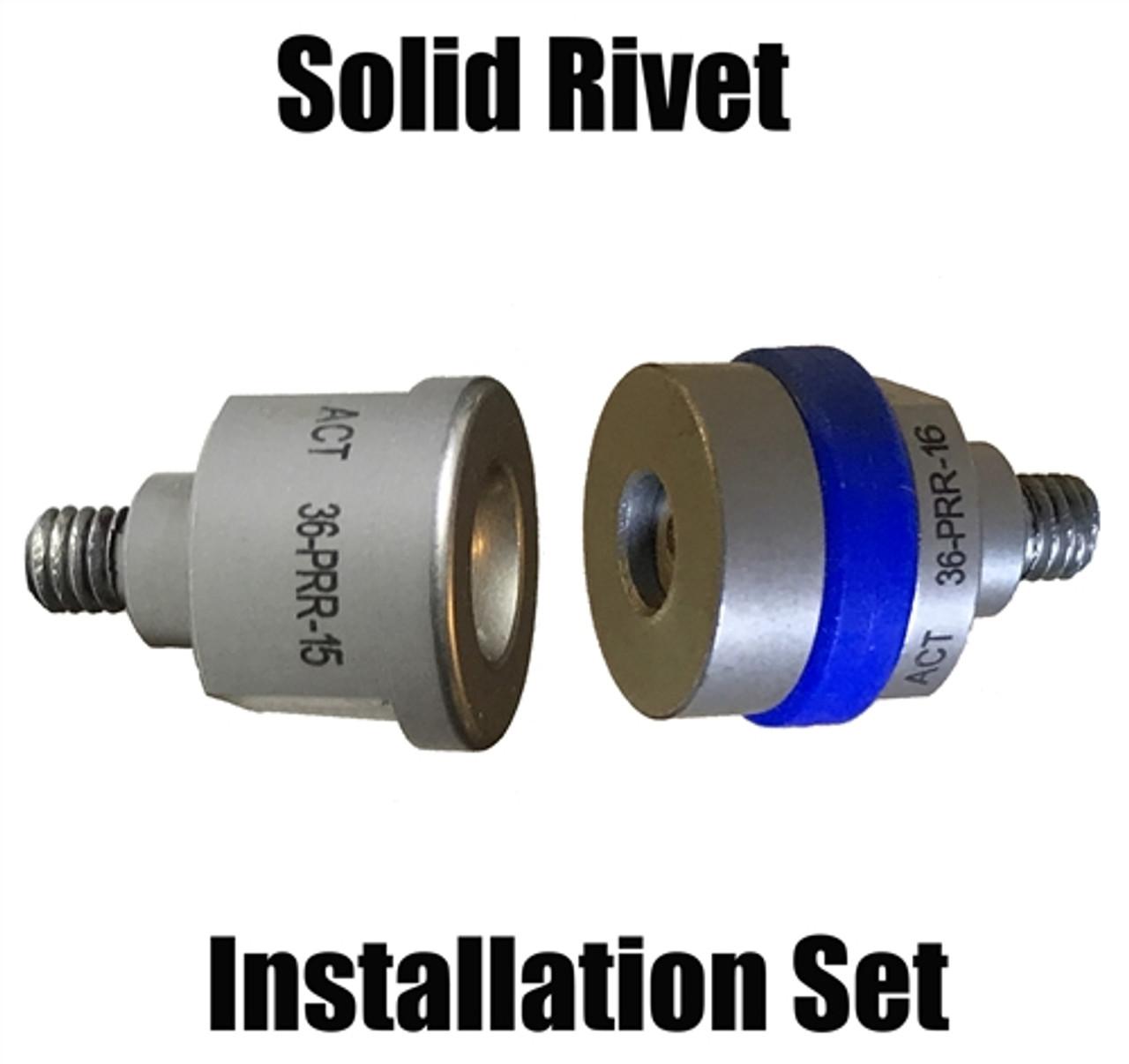 SPR-12 Aluminum Self Piercing rivet 3mm punch  and Forming die Set