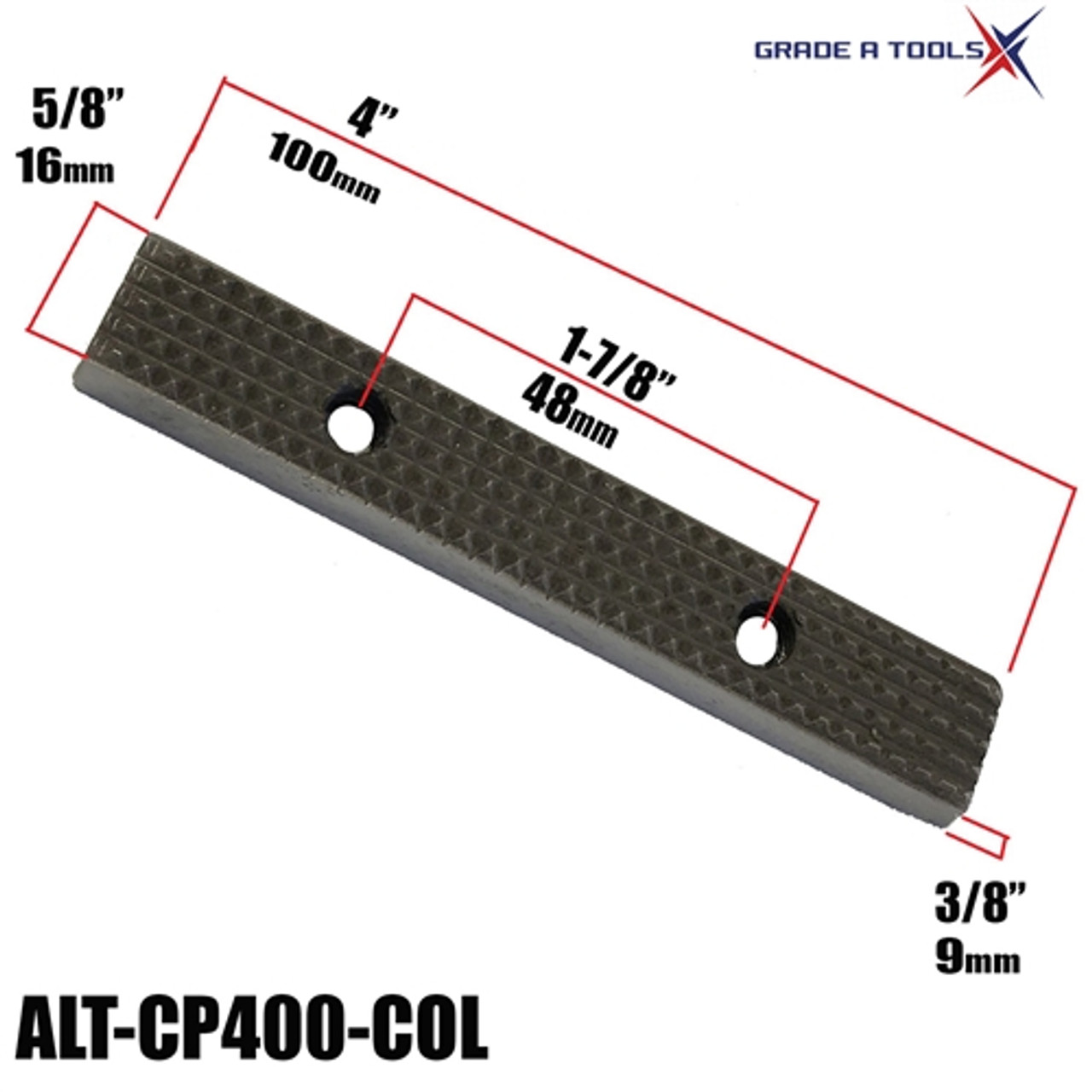 """Clamp Plate   Grip 4"""" - Car O Liner Frame Anchoring Clamps"""