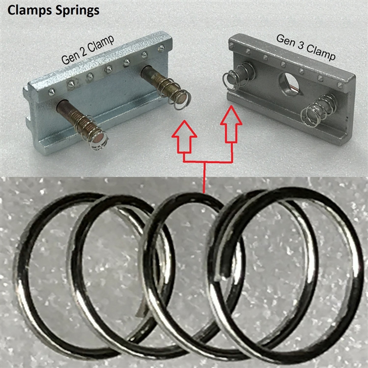 Chief Frame Machine Clamp Springs Gen 2, 3 and 4