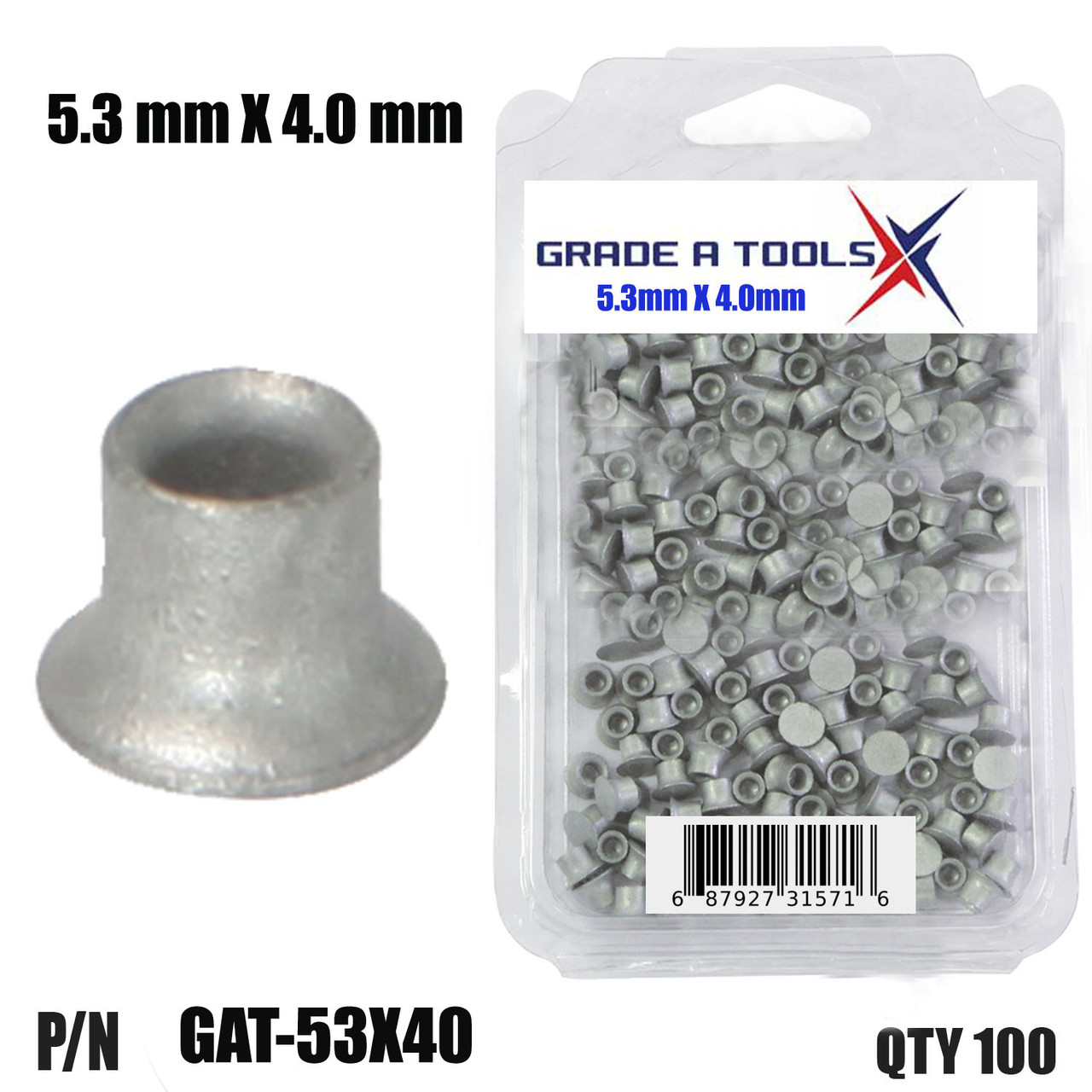 Self Piercing Rivets  5.3 X 4.0  for collision repairs