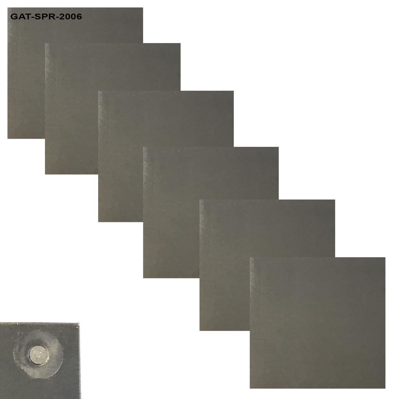 Aluminum Self Piercing Rivet Training & Test Panels - 6 Pack