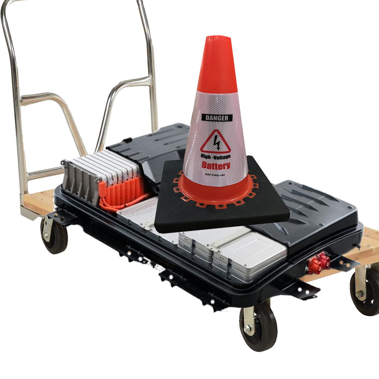 Electric Vehicle Repair Safety Cone Package 510-3