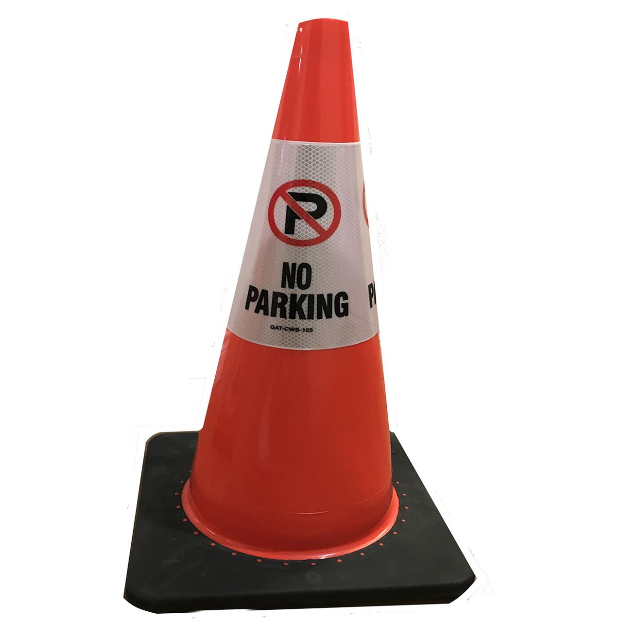 No parking Safety Cone Collar - Reflective-3
