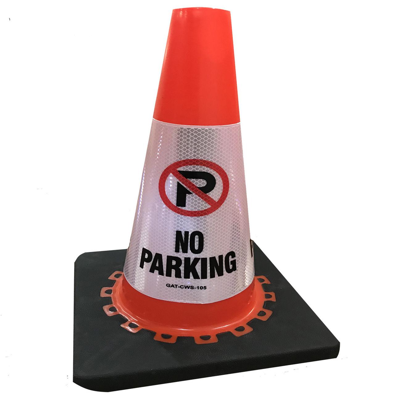 No parking Safety Cone Collar - Reflective-2