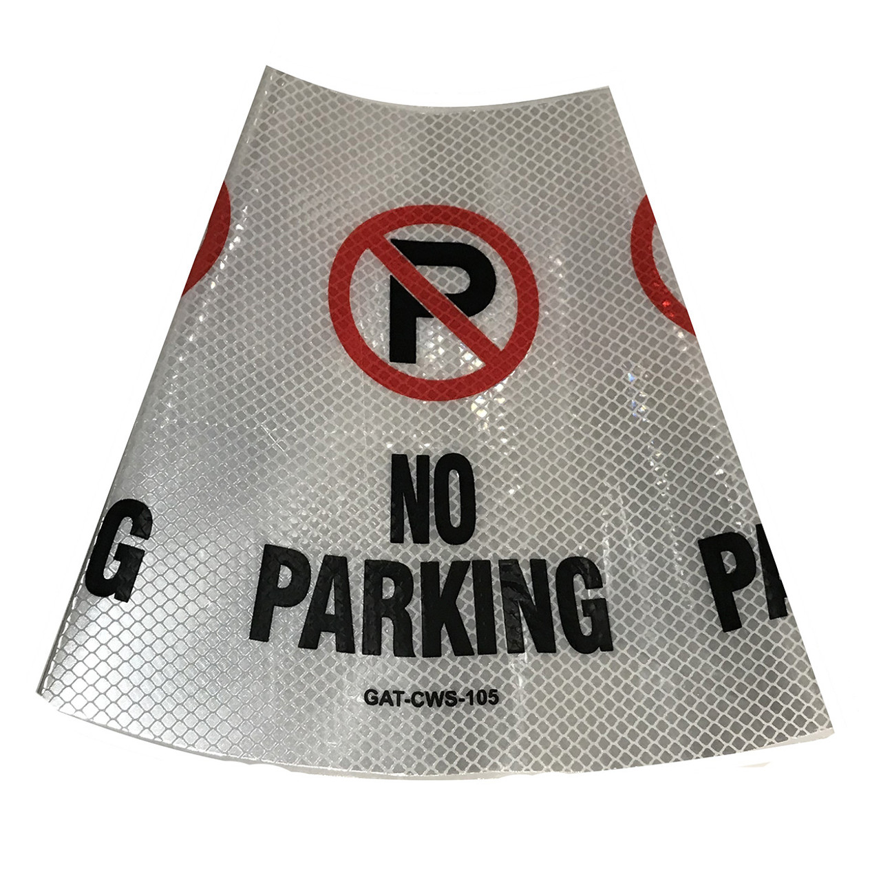 No parking Safety Cone Collar - Reflective-5