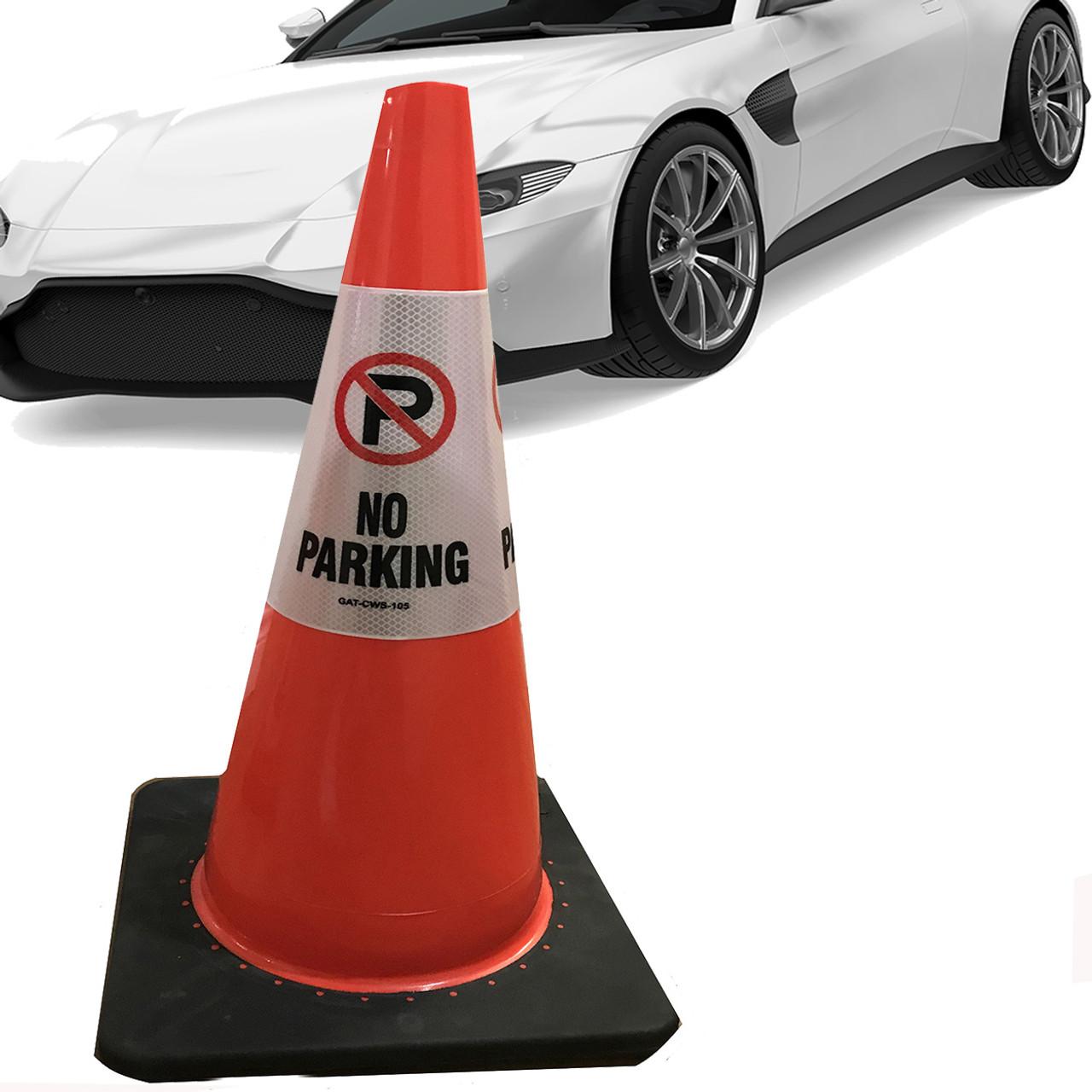 No parking Safety Cone Collar - Reflective-6