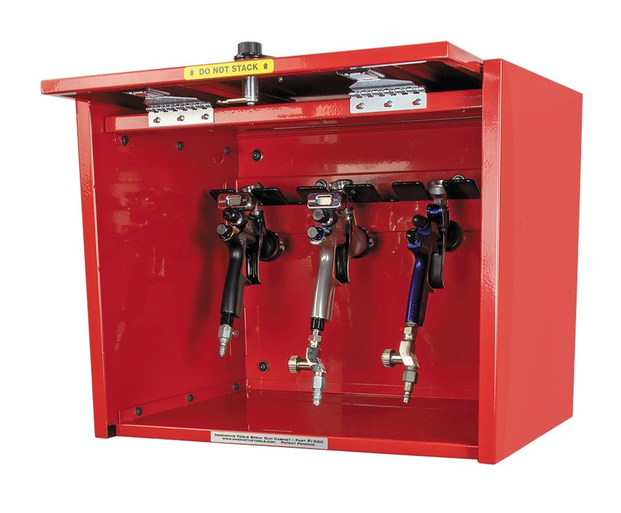 Innovative Spray Gun Cabinet Deluxe