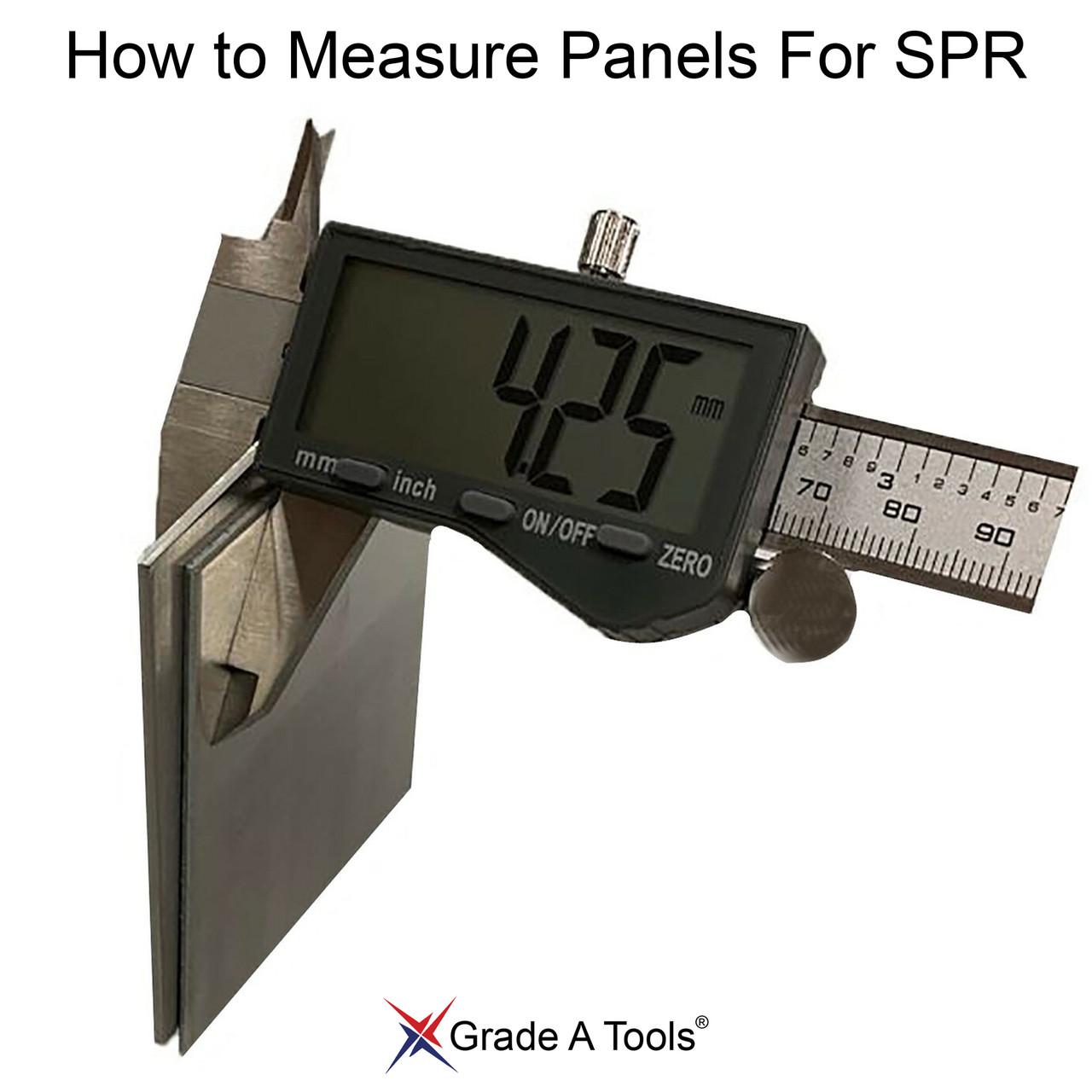 How to measure metal